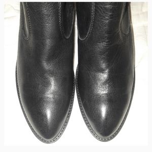 *NEW* Frye Black Leather Boots